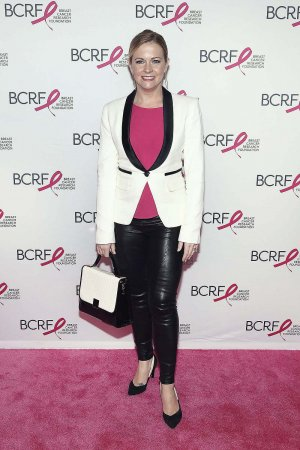 Melissa Joan Hart attends the 2016 Breast Cancer Research Foundation Award Luncheon