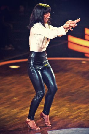 Melissa Ortiz-Gomez at RTL Lets Dance 2013 Final