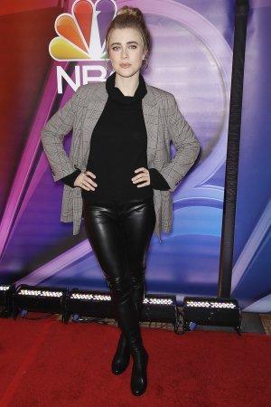 Melissa Roxburgh attends NBCs New York Mid Season Press Junket