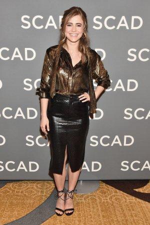Melissa Roxburgh attends SCAD aTVfest Wonder Women