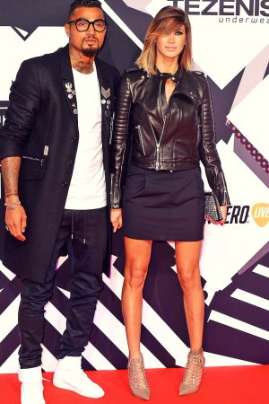 Melissa Satta attends MTV European Music Awards