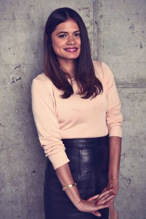 Melonie Diaz attends a portrait session for X/Y