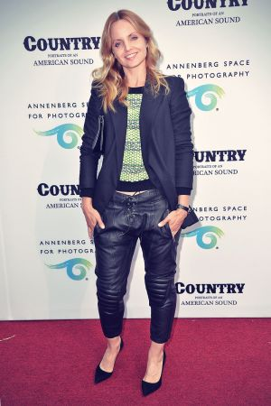 Mena Suvari attends Annenberg Space for Photography Opening Celebration