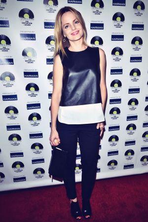Mena Suvari attends The Distortion of Sound premiere