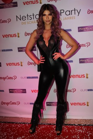 Micaela Schaefer attends Netstars Party Venus