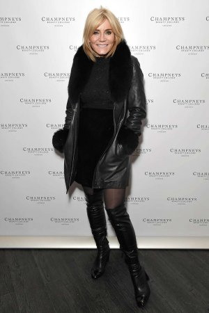 Michelle Collins attends Champneys Beauty College Launch