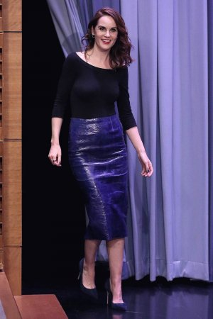Michelle Dockery at The Tonight Show Starring Jimmy Fallon