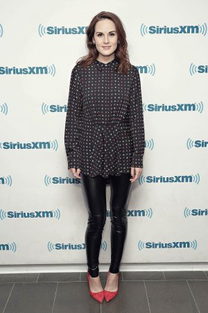 Michelle Dockery visits the SiriusXM Studios