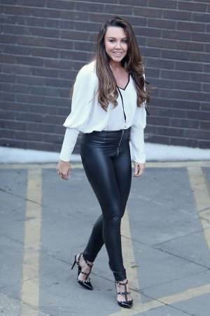 Michelle Heaton outside ITV Studios