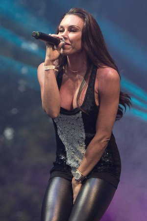 Michelle Heaton performs at the Big Day Out Festival