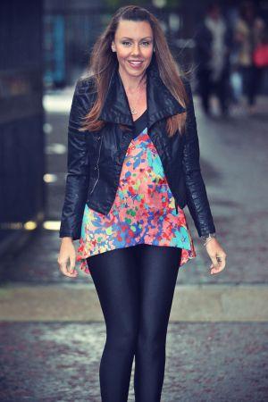 Michelle Heaton seen at the London studios