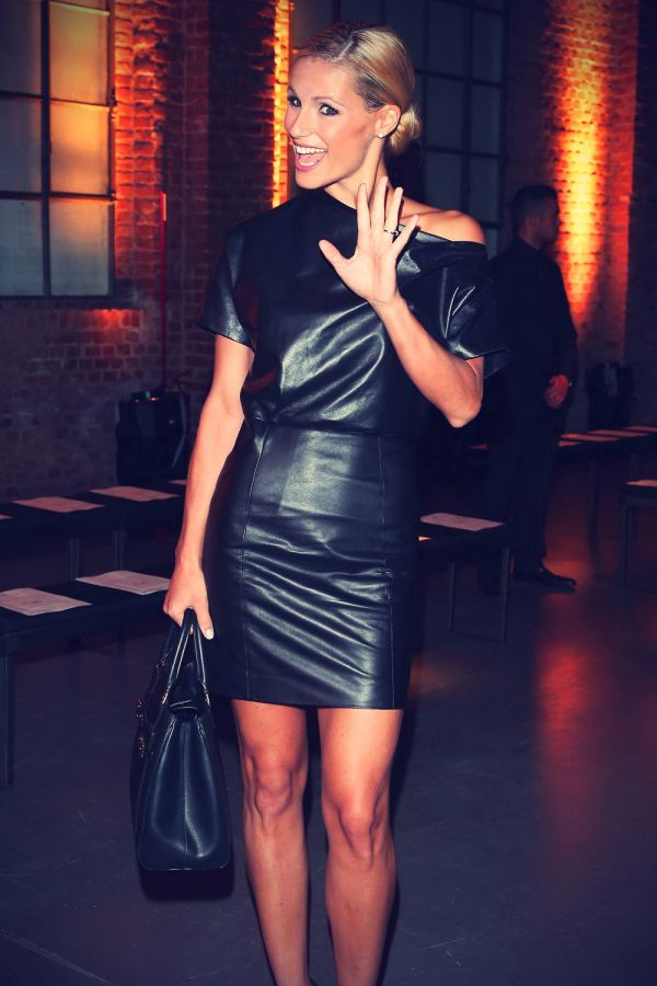 Celebrity Photos in leather