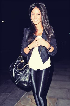 Michelle Keegan Leaving Australasia restaurant
