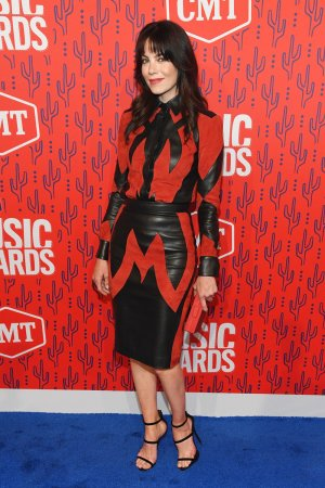 Michelle Monaghan attends 2019 CMT Music Awards