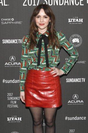 Michelle Morgan attends the LA Times premiere