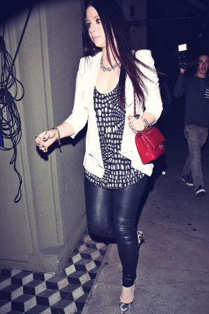 Michelle Trachtenberg out and about in LA