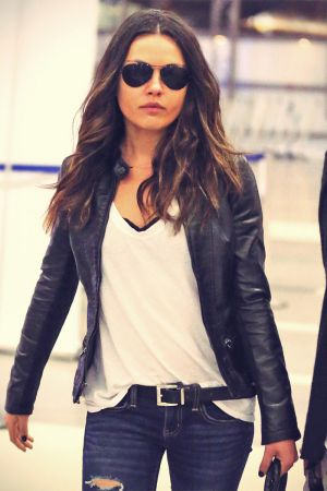 Mila Kunis at LAX