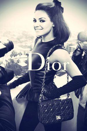 Mila Kunis Dior Photoshoot