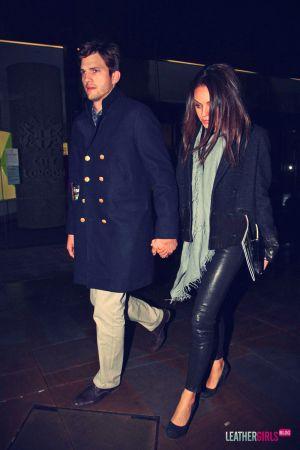 Mila Kunis heading for a romantic dinner date