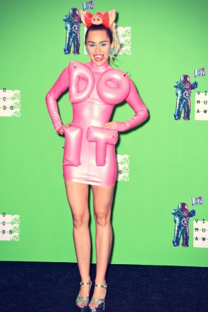 Miley Cyrus at the 2015 MTV Video Music Awards