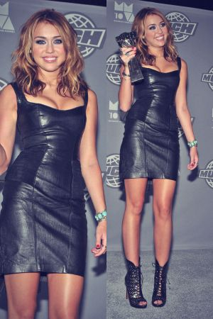 Miley Cyrus attends MuchMusic Video Awards