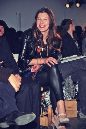 Milla Jovovich attends Rodarte Fall