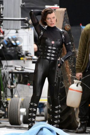 Milla Jovovich from Resident Evil: Retribution