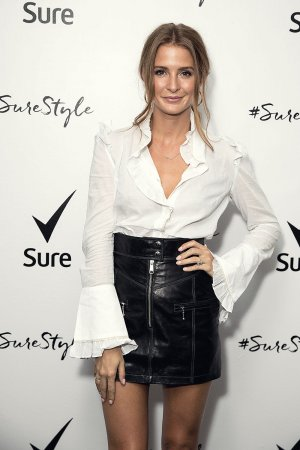 Millie Mackintosh attends the Sure Black & White party