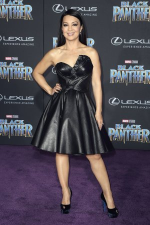 Ming-Na Wen attends Black Panther premiere