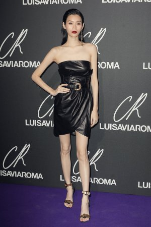 Ming Xi MingXi attends Launch of the CR Fashion Book Issue 13