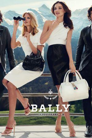Miranda Kerr and Julia Stegner in Bally Spring Summer 2012 campaign