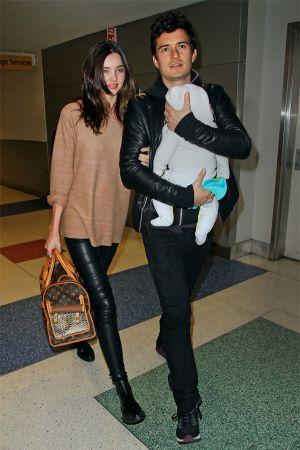 Miranda Kerr arrive to JFK Airport
