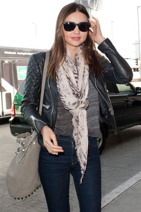 Miranda Kerr at LAX airport departure candids in LA