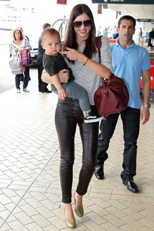 Miranda Kerr at Sydney Airport