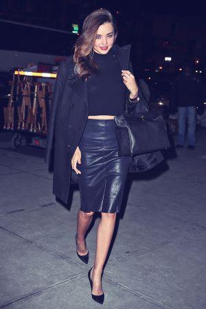 Miranda Kerr heading out in New York City