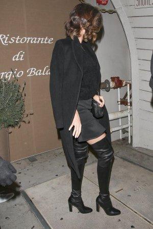 Miranda Kerr leaving Giorgio Baldi Restaurant After Dinner