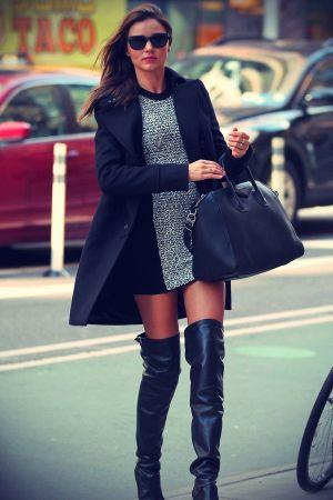 Miranda Kerr on a morning stroll in NYC