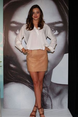 Miranda Kerr relaunch of her KORA Organics range, Melbourne
