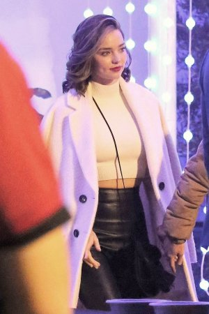 Miranda Kerr seen at Kings Of Leon concert