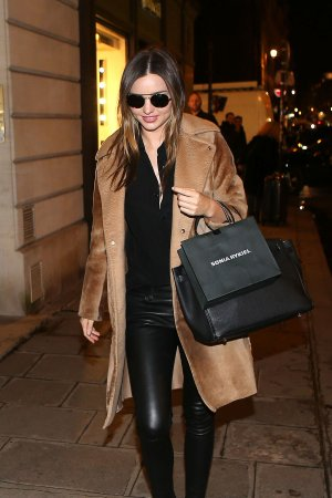 Miranda Kerr shopping at Sonia Rykiel's shop
