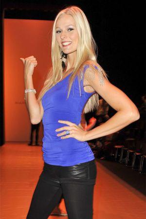 Miriam Holler at Mercedes Benz Fashion Week