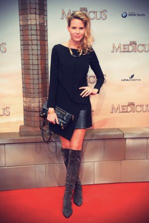 Miriam Langenscheidt attends World premiere of the feature film THE MEDICUS