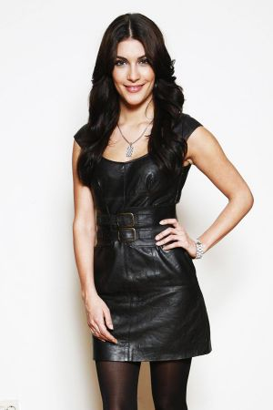 Miriam Wimmer leather dress