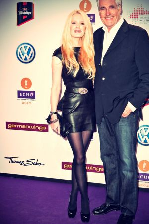 Mirja Du Mont attends Award of the ECHO 2012 in Berlin
