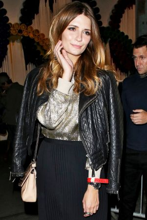 Mischa Barton at David Guetta concert