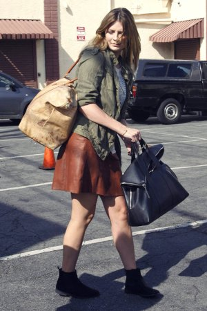 Mischa Barton at DWTS studio Hollywood