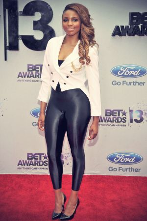 Miss Mykie attends The BET Awards