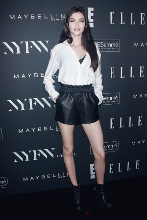 MJ Butterly attends E Entertainment, Elle and IMG Kick Off Party