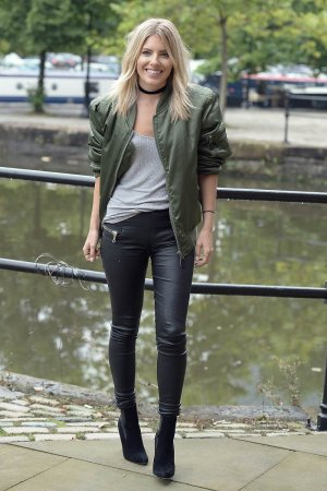 Mollie King arriving at Key 103