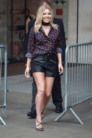 Mollie King at Radio 1 London